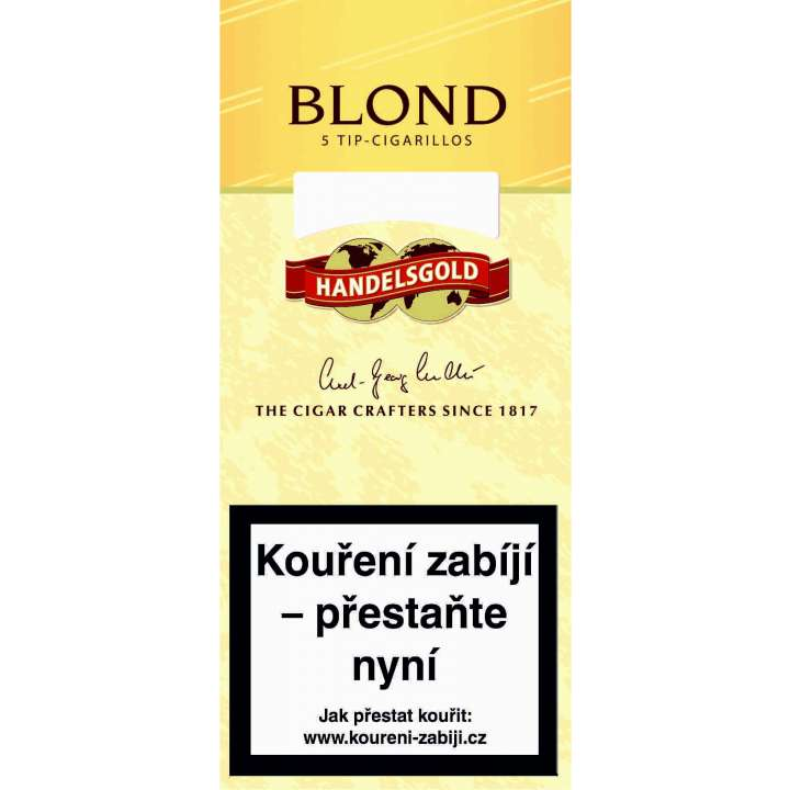 Handelsgold Blond Tip 5ks