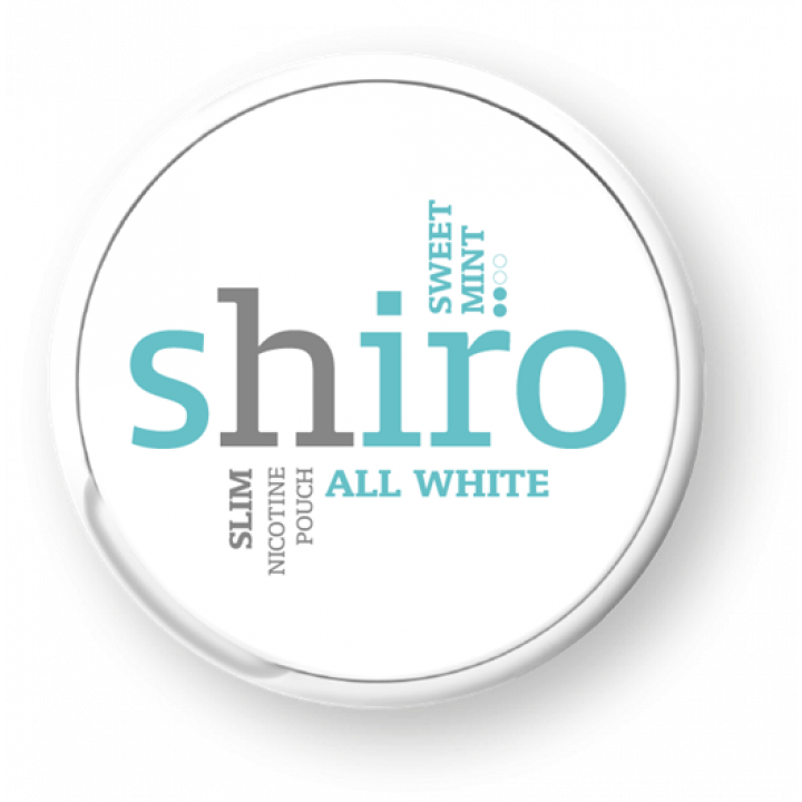 Shiro All White Fresh Mint