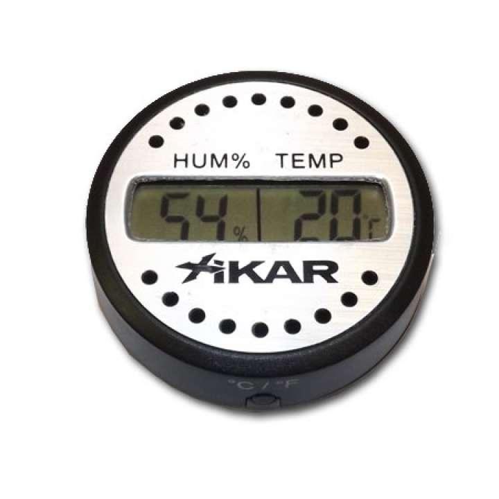 Hygrometer Xikar Kruhový Digi 832XI 1ks