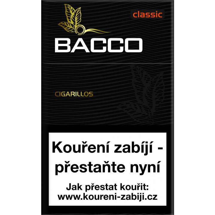 Bacco Cigarillos Classic 17ks