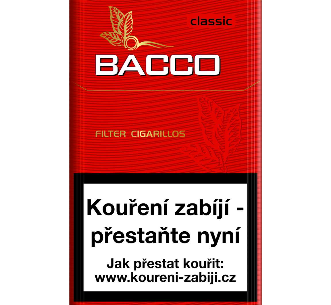 Bacco Filter Cigarillos Classic (9+1) 17ks