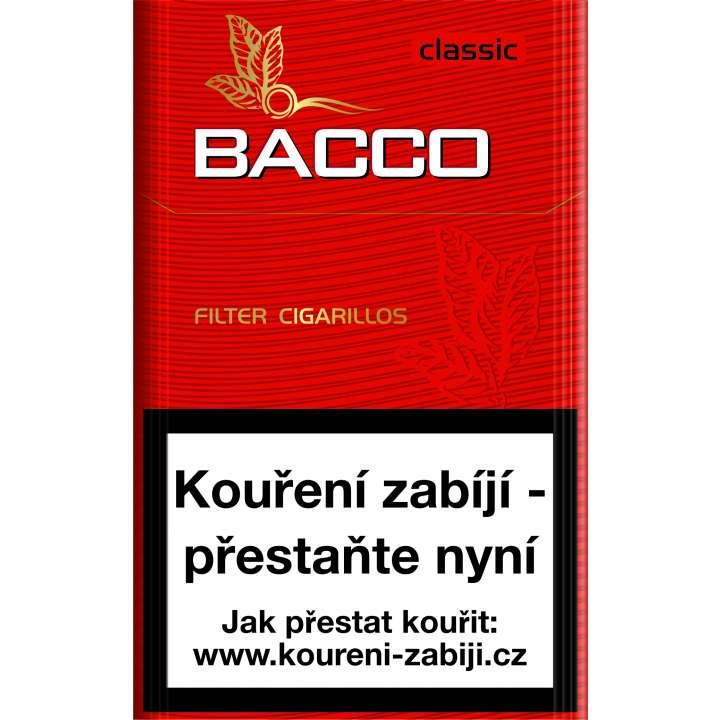 Bacco Filter Cigarillos Classic (9+1) 17ks