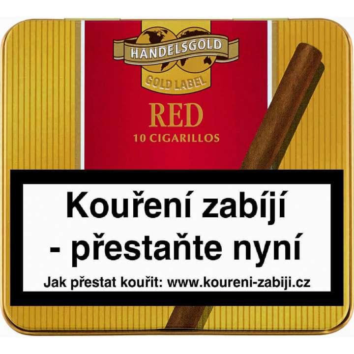 Handelsgold GL Cigarill Red 10ks