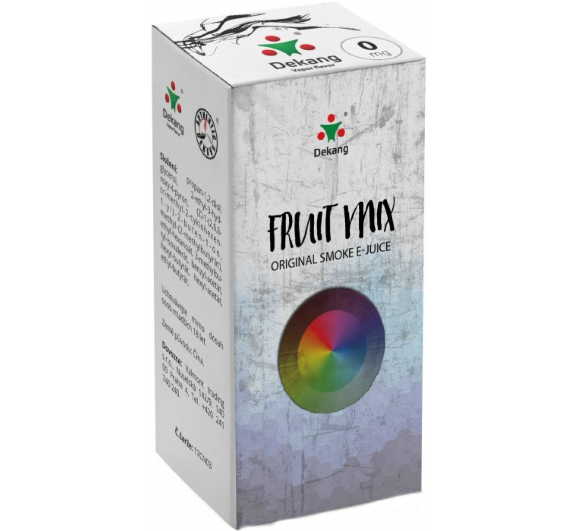 Liquid Dekang Fruit Mix (Ovocný mix) 10ml 0mg