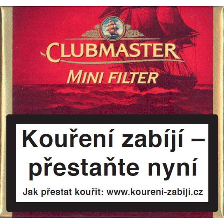 Clubmaster Mini Red Filter 20ks