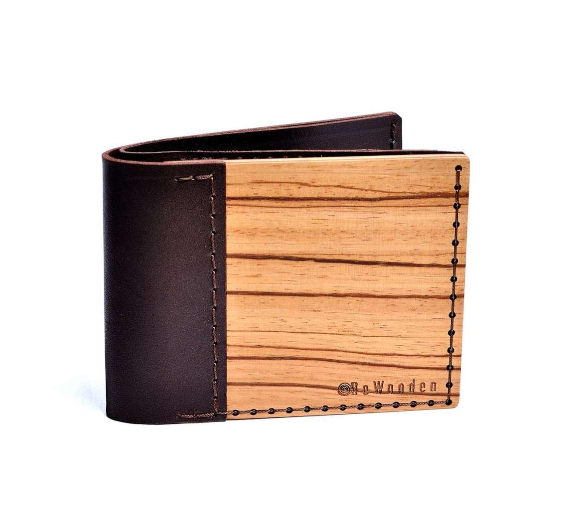 Peněženka BeWooden Lineari
