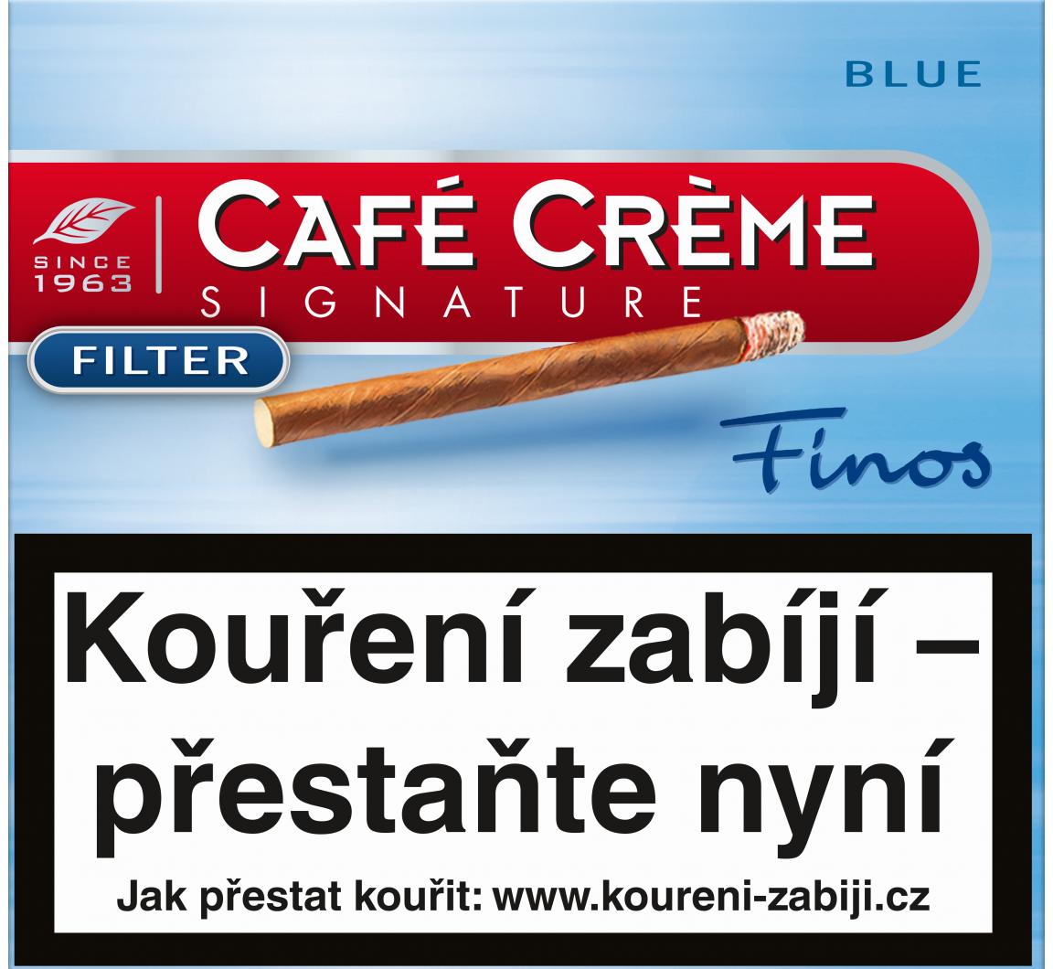 Cafe Creme Signature Finos Blue Flt 10ks