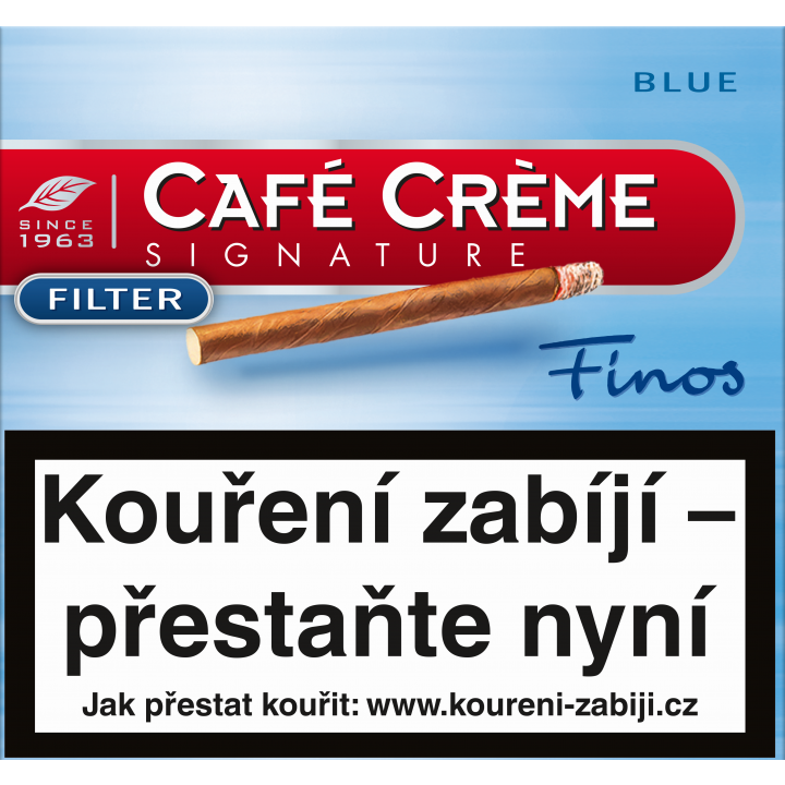 Cafe Creme Signature Finos Blue Flt 10ks