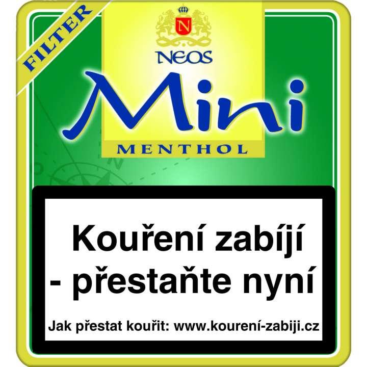 Neos Mini Green Filter 20ks