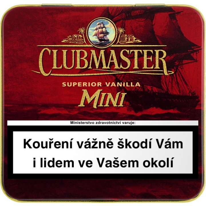 Clubmaster Mini Red 20ks