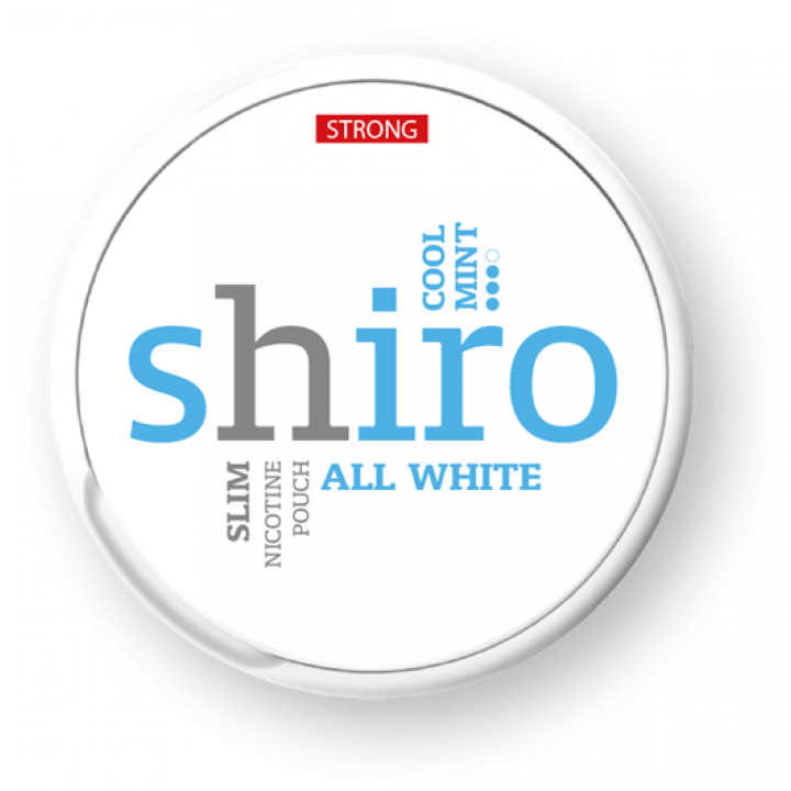 Shiro All White Cool Mint (strong)