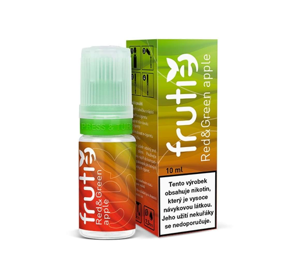 Frutie - Jablko (Red and Green Apple) - 10ml 0mg