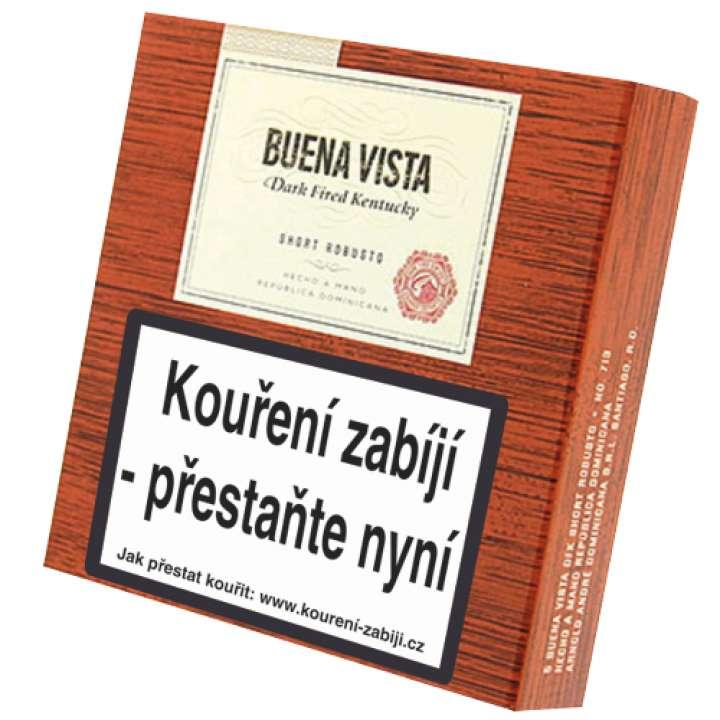 Buena Vista Dark Fired Kentucky Short Robusto 5 ks