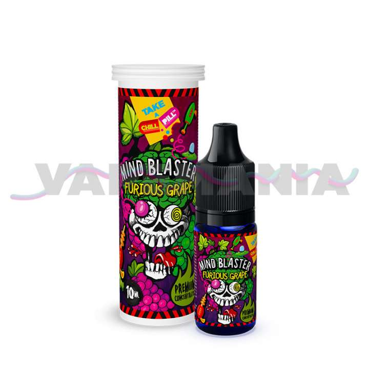 CHILL PILL - Hroznové víno (Mind Blaster - Furious Grape) příchuť 10ml