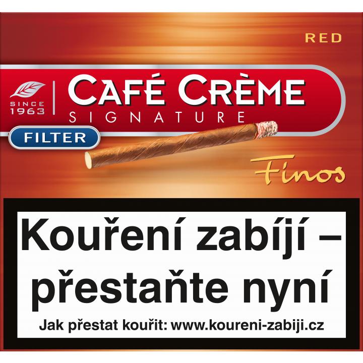 Café Créme Finos Red Flt 10ks