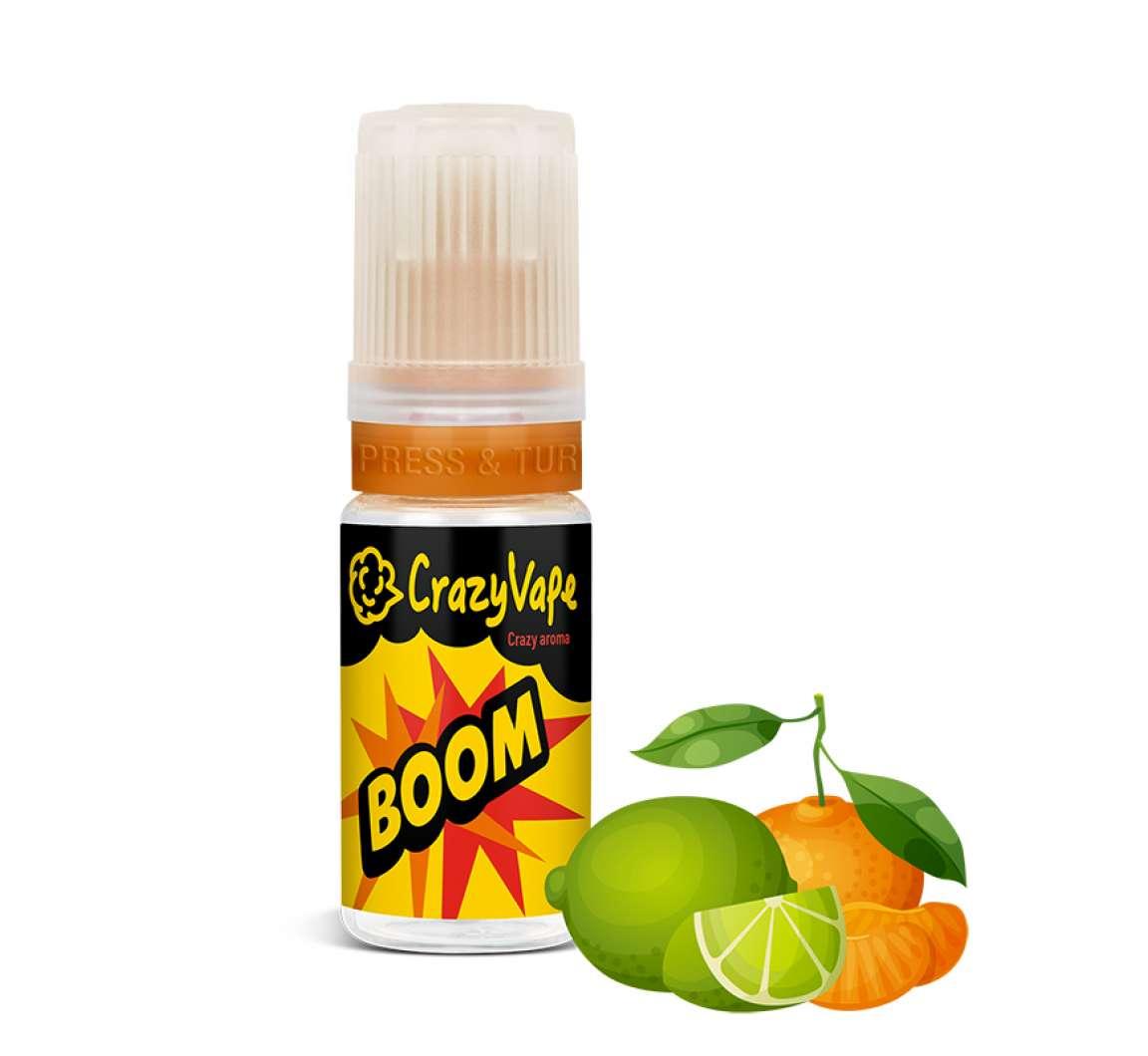 CrazyVape příchuť BOOM (Citrusové plody)