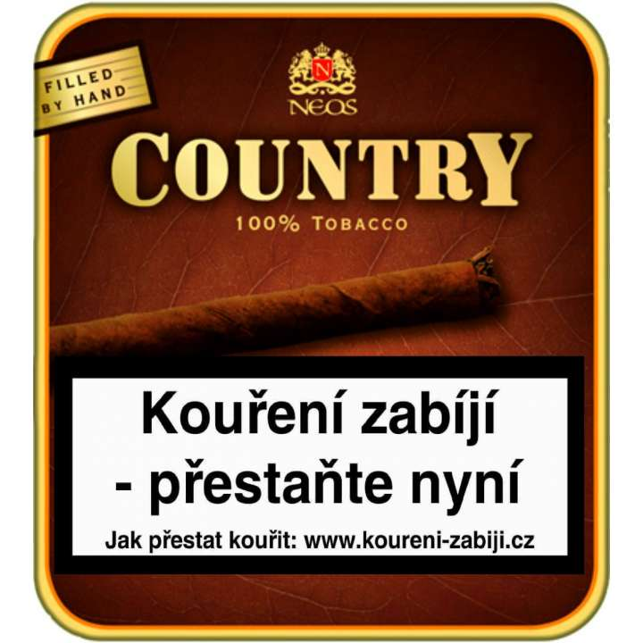 Neos Country Mini cigarrilos 20ks