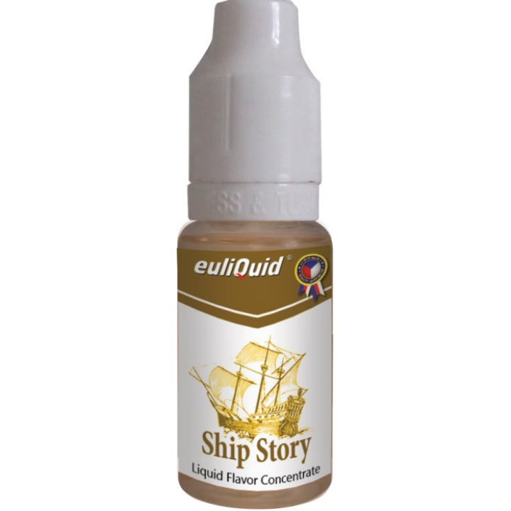 Příchuť EULIQUID Ship Story Tabák 10ml