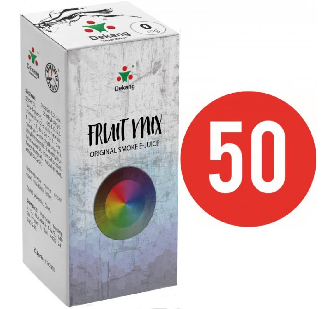 Liquid Dekang Fifty Fruit Mix 10ml (Ovocný mix) 0mg