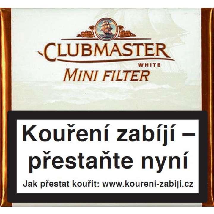 Clubmaster Mini White Filter 20ks